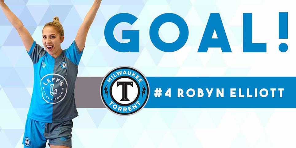Robyn Elliott Goal Card